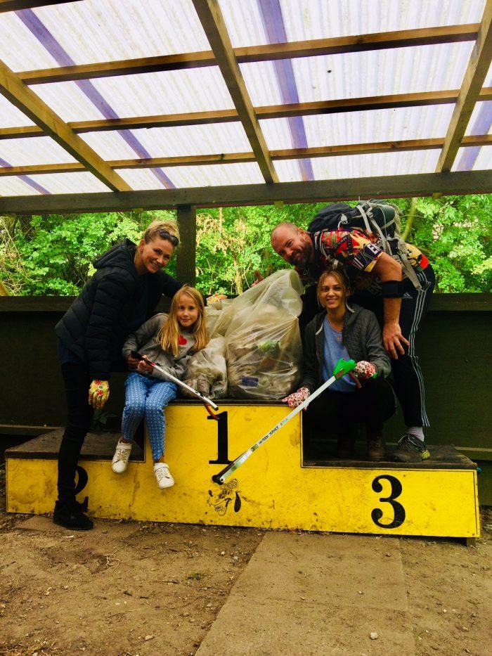 plastik forurening i Danmark - world cleanup day