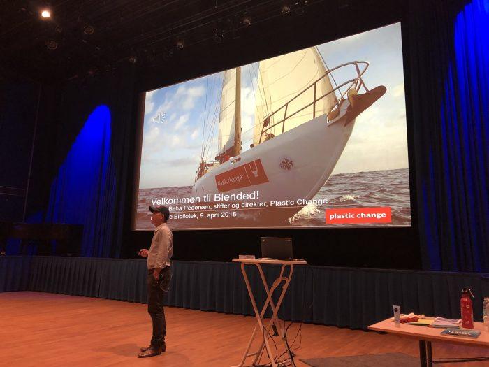 Foredrag om plastik i havet